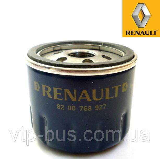 Фильтр масляный на Renault Trafic / Opel Vivaro 1.9dCi (2001-2006) Renault (оригинал) 8200768927