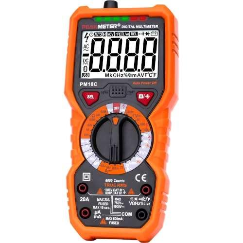 Купить Мультиметры, Мультиметр цифровой многофункциональный с True RMS PROTESTER PM18C