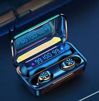 Беспроводные наушники TWS F9-10  Bluetooth  5.0  с цифровым зарядным PowerBank.
