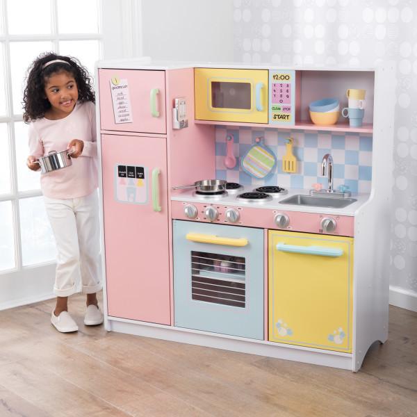 Игровая детская кухня KidKraft Pastel Пастель  53181