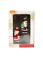 Елочная игрушка MELINERA Дед мороз 2 шт (K10-110615)