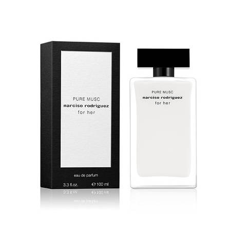 Narciso Rodriguez For Her Pure Musc Парфюмированная вода EDP 100ml (Нарцисо Родригес Фо Хе Пур Муск Маск) Духи, фото 2