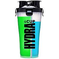Hydracup, Hydra shaker 36oz (США), шейкер на 2 отсека (500 мл и 300мл)