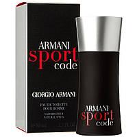 Giorgio Armani Code Sport Туалетная вода EDT 125ml (Джорджио Георгио Армани Код Спорт) Мужской Парфюм Аромат