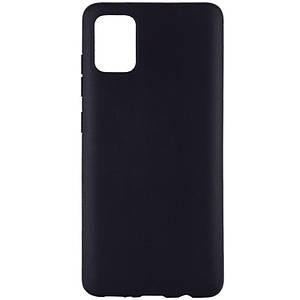 Чехол TPU Epik Black для Samsung Galaxy A51 Черный (896011)