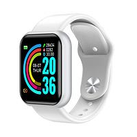 Смарт часы D20  (Smart Watch) Умные часы Фитнес браслет Белые