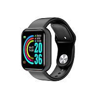 Смарт часы D20  (Smart Watch) Умные часы Фитнес браслет Чёрные