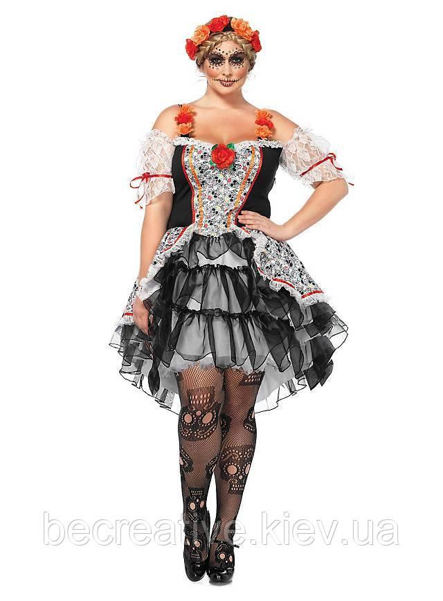 Женский карнавальный костюм на хэллоуин