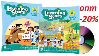 Английский язык / Learning Stars / Pupil's+Activity Book. Учебник+Тетрадь (комплект с диском), 2/ Macmillan