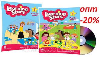 Английский язык / Learning Stars / Pupil's+Activity Book. Учебник+Тетрадь (комплект с диском), 1/ Macmillan