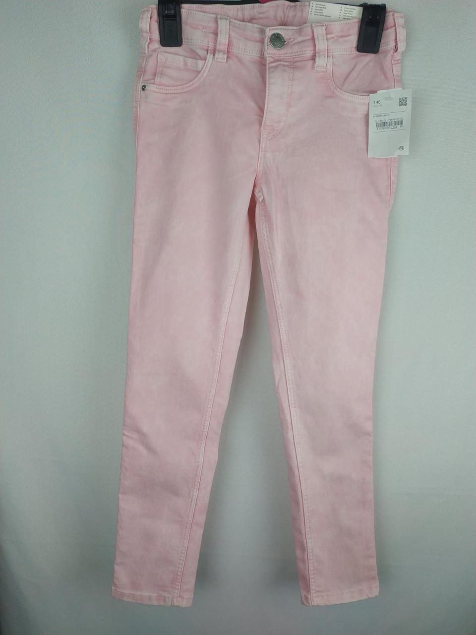 Стильні рожеві джинси на дівчинку C&A Німеччина Розмір 146