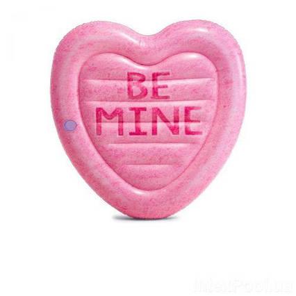 Матрас Карамельное сердце, розовый 58789