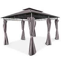Элегантный садовый павильон Laurel шатер для дома и дачи 3х4 м + воздухозаборник