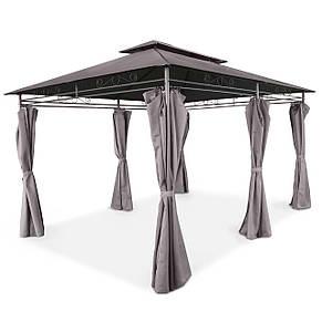 Элегантный садовый павильон Laurel шатер для дома и дачи 3х4 м + воздухозаборник, фото 2