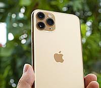 СКИДКА! Смартфон APPLE iPhone 11 Pro => Pro Max =>Копия КОРЕЯ =>БЕЗРАМОЧНЫЙ =>ГАРАНТИЯ 1 ГОД =>(Золотой)