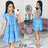 Женское красивое летнее платье, фото 1