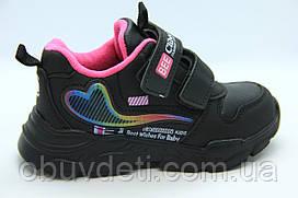 Якісні кросівки clibee для дівчаток р. 30 - устілка всередині 18,2 см