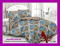 Двуспальный комплект постельного белья из хлопка Двоспальний комплект постільної білизни з бавовни  S163