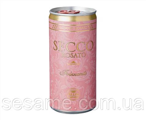 Просекко розовое Secco Rosato Italiano Vino Frizzante Allini 200 ml (Германия)