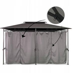Элегантный садовый павильон Laurel шатер для дома и дачи 3х4 м + воздухозаборник, фото 3