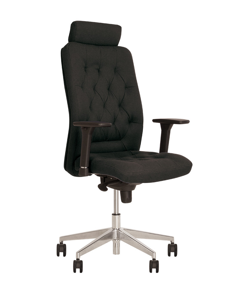 Крісло офісне Chester R HR steel механізм ES хрестовина AL 70, екошкіра Eco-30 (Новий Стиль ТМ)