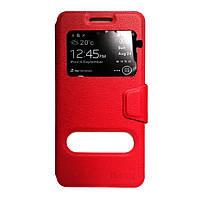 Чехол-книжка iMAX Samsung J3 2017 (J330) Red