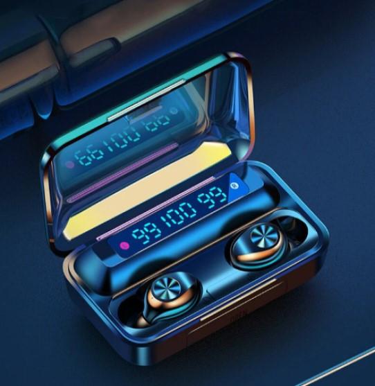 Беспроводные наушники TWS F9-10  Bluetooth  сенсорные HD Stereo Heavy Bass