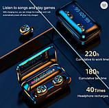 Беспроводные наушники TWS F9-10  Bluetooth  сенсорные HD Stereo Heavy Bass, фото 2
