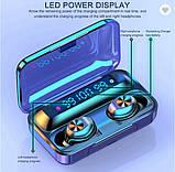 Беспроводные наушники TWS F9-10  Bluetooth  сенсорные HD Stereo Heavy Bass, фото 4