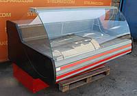 Гастрономическая холодильная витрина «Технохолод Невада» 2.0 м. (Украина), широкая выкладка 80 см., Б/у, фото 1