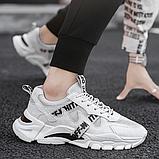 Кроссовки в стиле Off-White светлые, фото 2