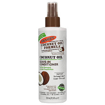 Несмываемый кондиционер с кокосовым маслом Palmer's Coconut Oil Leave-In Conditioner 250 мл