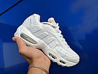 Кроссовки женские белые найк Nike air Max 95; 38 размер