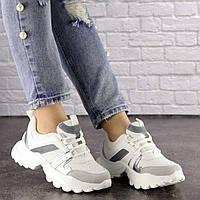 Женские белые кроссовки Dexter 1546