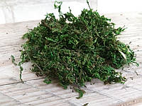 Натуральный крашеный мох, 100 гр в упаковке, 50