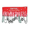 Набор съемников для автомагнитол, 20 предметов, Toptul JGAA2001