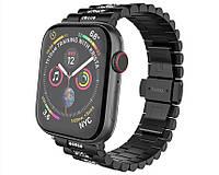 Pемешок HOCO WB08 Shining steel watch strap for Apple Watch Series1/2/3/4/5(42/44mm) Black