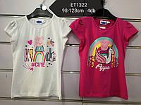 Футболки для девочек оптом Peppa Pig , Disney, 98-128 р