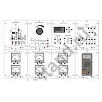 Типовой комплект учебного оборудования «Электроизмерительные приборы», исполнение настольное ЭИП-НР