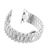 Pемешок HOCO WB08 Shining steel watch strap for Apple Watch Series1/2/3/4/5(42/44mm) Silver
