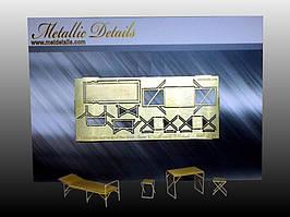 Комплект для интерьера палатки. Тип 1. 1/72 METALLIC DETAILS MD7209