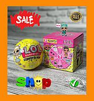 Кукла ЛОЛ (LOL) Кукла сюрприз в шаре (конфетти поп 9 surprises 45+ to collect, 8 series)