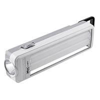 Аварийный аккумуляторный фонарь Yajia 6872, 1W+30SMD, USB