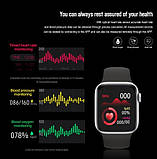 Смарт годинник X7 (Smart Watch) Розумні годинник Фітнес браслет Фітнес трекер, фото 8