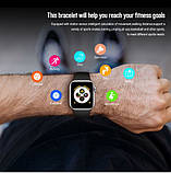 Смарт годинник X7 (Smart Watch) Розумні годинник Фітнес браслет Фітнес трекер, фото 10