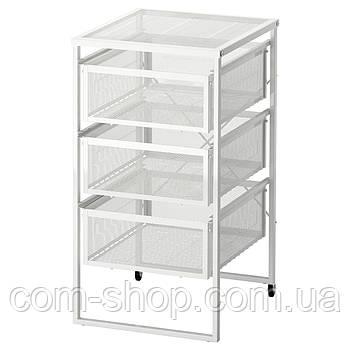 IKEA Тумба с ящиками, белый