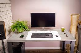 Защитная белая подкладка на стол Poli-Trader полипропилен 40*60 см