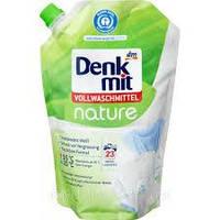 Гель Эко  для стирки белого и цветного белья  Denkmit Vollwaschmittel nature 1250 мл