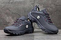Мужские зимние кроссовки Timberland темно синие 3567