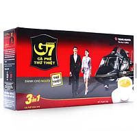 Вьетнамский растворимый кофе 3в1 с сахаром и сливками G7 Trung Nguen (Вьетнам)